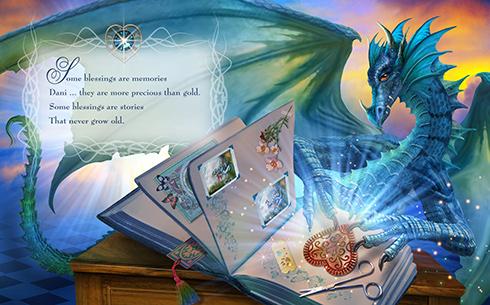 Dragon scrap book