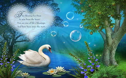 Swan Blessing Book